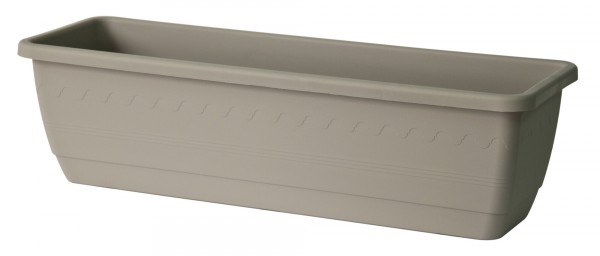 Balkonkiste 40 cm Inis Taupe